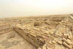 La città antica di Ur Fotografie Stock Libere da Diritti