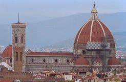 La città antica Firenze in Italia Immagine Stock Libera da Diritti
