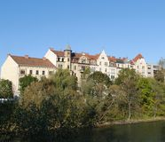 La città austriaca storica Graz Fotografie Stock Libere da Diritti