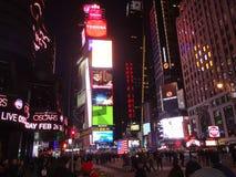 La città che non dorme mai Immagini Stock Libere da Diritti