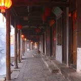 La città cinese dell'acqua - Xitang alla mattina 3 Immagini Stock