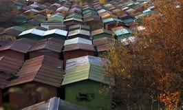 La città del ferro Fotografia Stock Libera da Diritti