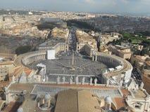 La città del Vaticano Fotografia Stock