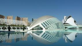 La città delle arti e delle scienze a Valencia (Spagna) Fotografia Stock Libera da Diritti