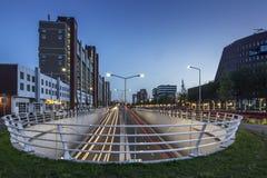 La città di Aia nei Paesi Bassi Immagine Stock