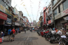 La città di Amritsar fotografie stock libere da diritti