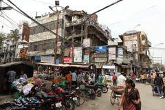 La città di Amritsar Fotografia Stock