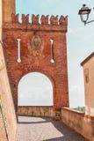 La città di Barolo fotografia stock libera da diritti