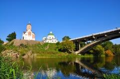 La città di Belaya Tserkov, Ucraina Fotografie Stock Libere da Diritti