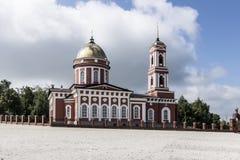 La città di Birsk La cattedrale della trinità santa Fotografia Stock Libera da Diritti