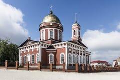 La città di Birsk La cattedrale di trinità santa Fotografia Stock Libera da Diritti