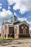 La città di Birsk La chiesa della st Nicholas The Wonderworker Immagini Stock Libere da Diritti