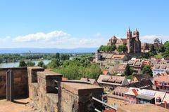 La città di Breisach in Germania Fotografia Stock