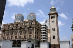 La città di Colombo nello Sri Lanka immagine stock