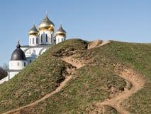 La città di Dmitrov immagini stock