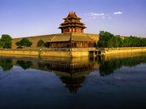 La città di Forbiden, Pechino Immagine Stock Libera da Diritti