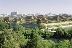 La città di Forbiden, Pechino Fotografie Stock Libere da Diritti