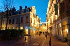 La città di Gand nel Belgio Immagine Stock