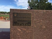 La città di Gilbert 9/11 di memoriale in Gilbert AZ Immagini Stock