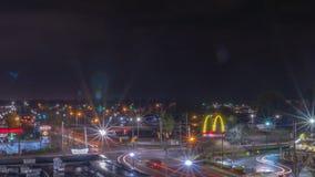 La città di Greenville fotografia stock