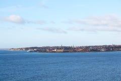 La città di Helsingor Immagini Stock Libere da Diritti
