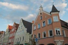 La città di Ingolstadt in Germania fotografia stock libera da diritti