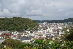 La città di Kamakura Fotografia Stock Libera da Diritti