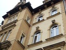La città di Legnica Architettura della Polonia e paesaggio urbano di piccola città polacca fotografia stock