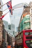 La città di Londra Immagini Stock