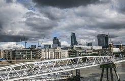 La città di Londra Fotografie Stock Libere da Diritti