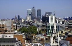 La città di Londra Fotografia Stock