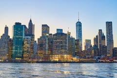 La città di New-York Immagine Stock