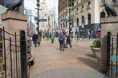 La città di New-York Immagine Stock Libera da Diritti