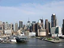 La città di New-York Fotografie Stock Libere da Diritti