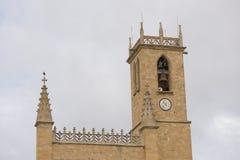 La città di Obanos Immagine Stock
