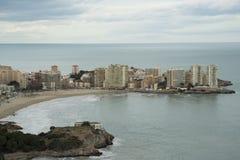La città di oropesa Del Mar Fotografia Stock