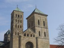 La città di osnabrueck in Germania immagini stock libere da diritti