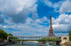 La città di Parigi Francia fotografie stock