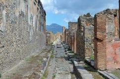 La città di Pompei Fotografia Stock Libera da Diritti