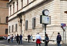 La città di ROMA Fotografia Stock Libera da Diritti