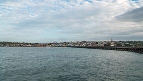La città di Ryde nell'isola di Wight Fotografia Stock