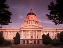 La città di Sacramento California Immagine Stock