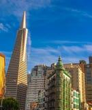 La città di San Francisco fotografia stock libera da diritti