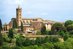 La città di Siena, Toscana Fotografia Stock Libera da Diritti
