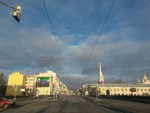 La città di St Petersburg Fotografia Stock Libera da Diritti