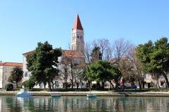 La città di Trogir immagine stock