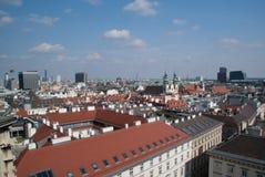 La città di Vienna, Austria Fotografia Stock Libera da Diritti