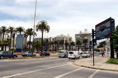 La città di Vina del Mar, il centro amministrativo del comune omonimo Fotografia Stock Libera da Diritti