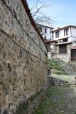 La città di Zlatograd fotografia stock libera da diritti