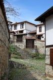 La città di Zlatograd immagine stock